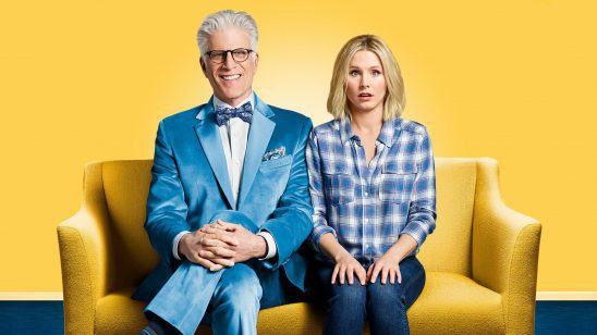 Michael and Eleanor from The Good Place