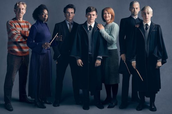 The cast of Harry Potter and the Cursed Child.