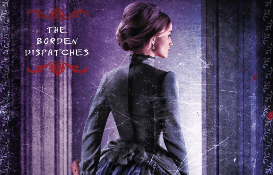 Lizzie Borden from the cover art of Maplecroft.