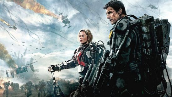 Cage and Vrataski from Edge of Tomorrow.