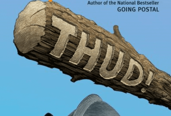 A club of the cover art of Thud!