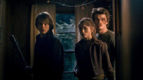 Jonathan, Nancy, and Steve from Stranger Things