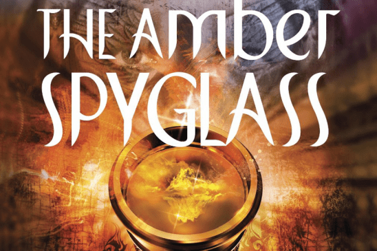 Cover art from the Amber Spyglass