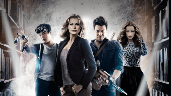 The cast of the Librarians.