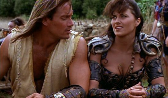Xena and Hercules together.