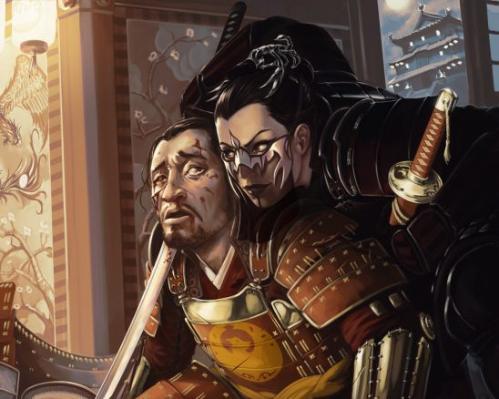 Two samurai from L5R art.