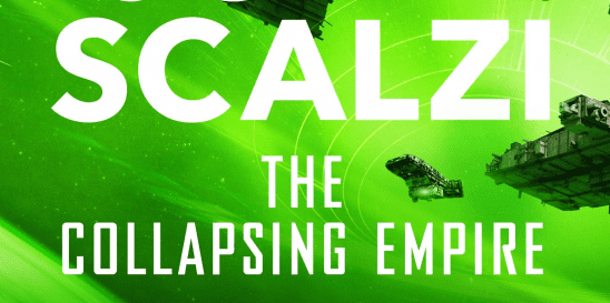 Alternate cover art for the Collapsing Empire