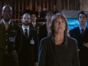 Harriet Jones and her officials.