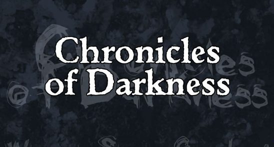 Title art for Chronicles of Darkness.