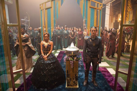 The wedding scene from Shannara Chronicles.