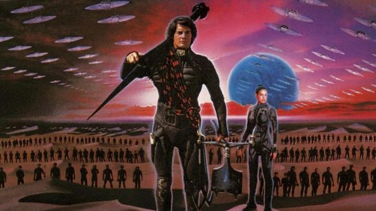 A poster for the David Lynch Dune film.
