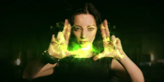 Polaris using her powers in The Gifted.