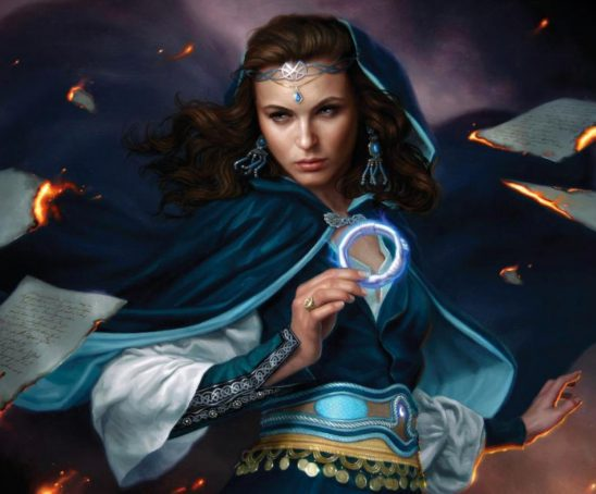 A female mage from Wheel of Time