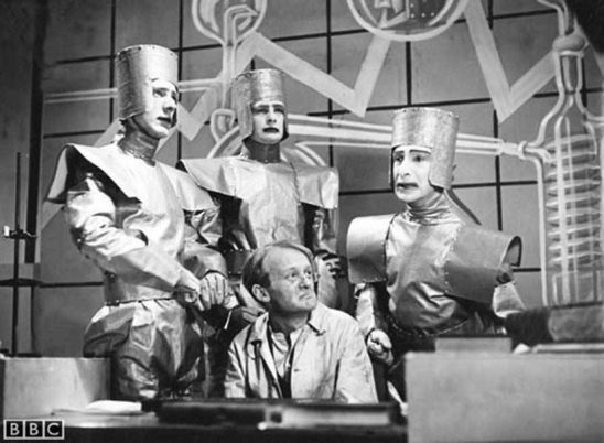 Robots from a BBC production of R.U.R