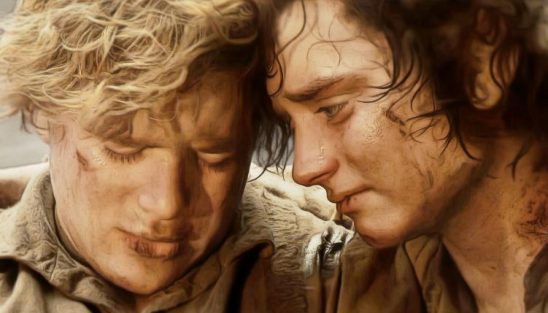 Sam and Frodo from Return of the King