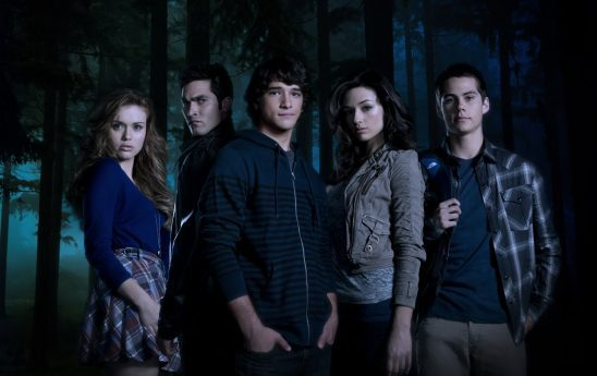 Photo of the season 1 cast from Teen Wolf