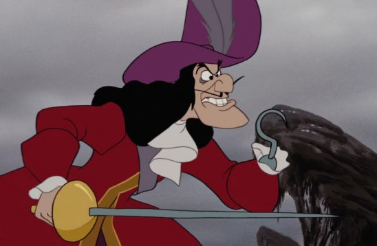 Captain Hook from Disney's Peter Pan
