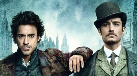 Sherlock and Watson from the Robert Downey Jr. Film.