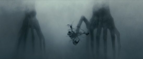 Strange Octopus-like aliens from Arrival