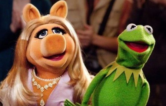 Piggy and Kermit from The Muppet Movie
