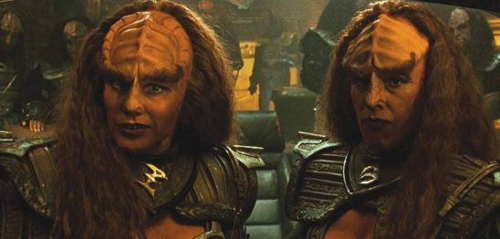 Lursa and B'etor from Star Trek: Generations