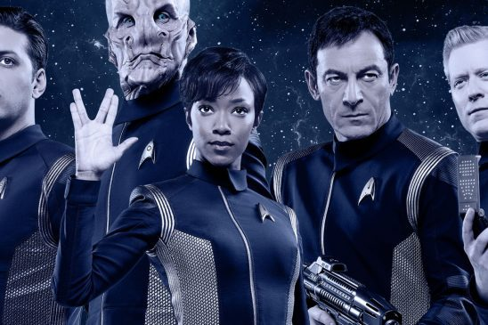 The cast of discovery together