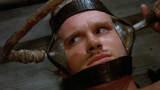 "Wesley hooked up to ""the machine"" in Princess Bride."