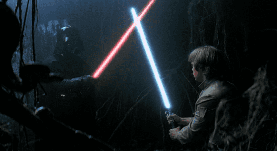 The cave duel from Empire Strikes Back.