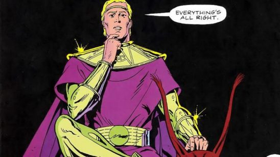 Ozymandias from the comic Watchmen.