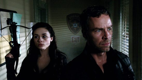 Allison and Chris Argent from Teen Wolf