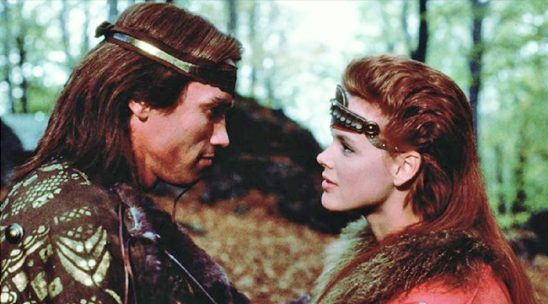 Red Sonja and Conan from the Red Sonja movie