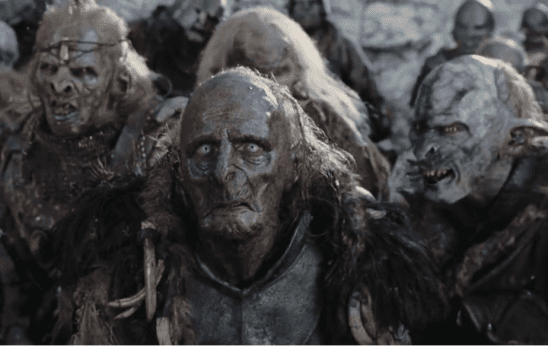 Orcs from The Lord of the Rings films.