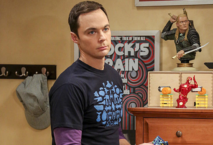 Sheldon from The Big Bang Theory
