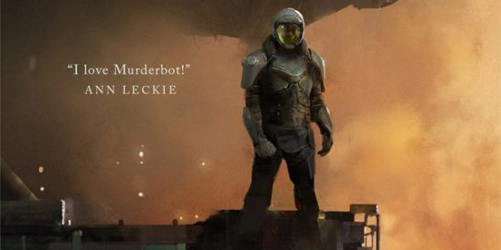 someone in science fiction armor stands in front of a space ship