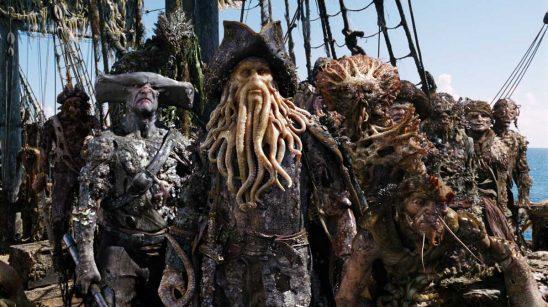 The sea monster crew of Davy Jones' ship.