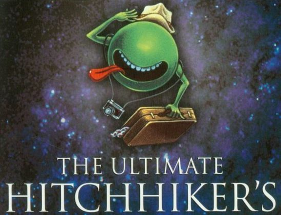 The Ultimate Hitchhiker's Guide to the Galaxy cover