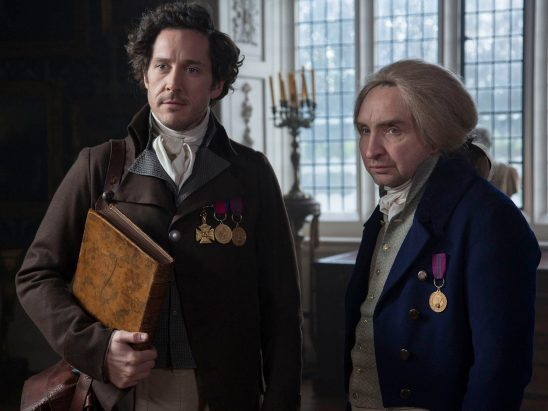 The main characters from Jonathan Strange and Mr Norell