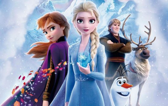 the main characters of Frozen II
