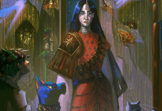 Cover art from Lirael.