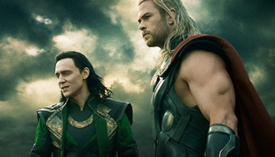 Thor and Loki on an alien world.