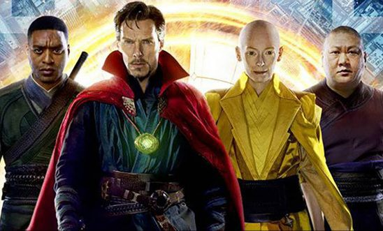 Mordo, Strange, The Ancient One, and Wong