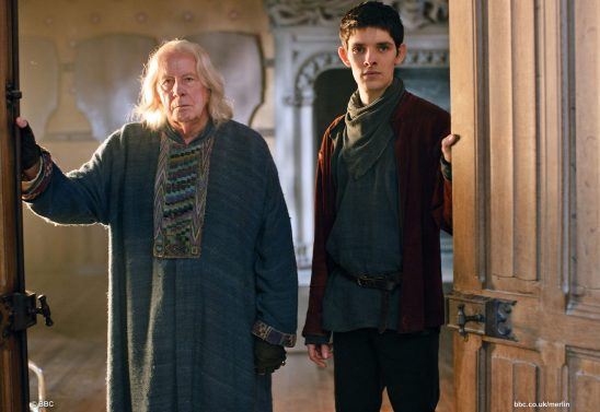 Gaius and Merlin from BBC's Merlin