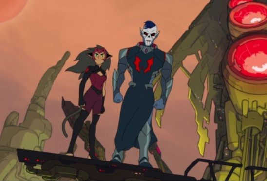 Catra and Hordak from She-Ra