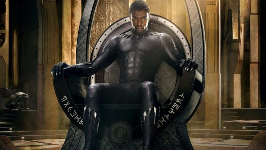 King T'Challa on this throne.