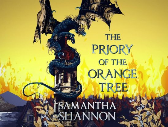 A dragon from Priory's cover art.