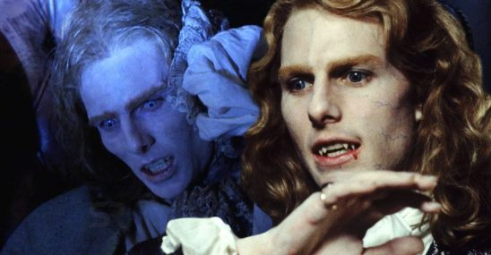 Lestat at the end of Interview with the Vampire compared to Lestat at the beginning.