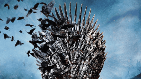 The Iron Throne from A Game of Thrones