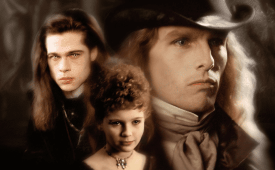 Louis, Claudia, and Lestat from Interview With the Vampire.