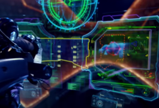 Holographic displays from Pacific Rim