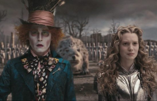 Hatter and Alice from Alice in Wonderland